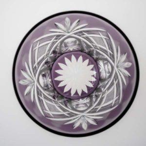 タンブラー 魚子に笹 紫