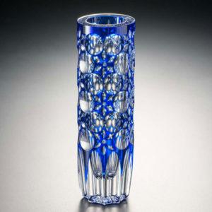 花器 万華鏡 瑠璃