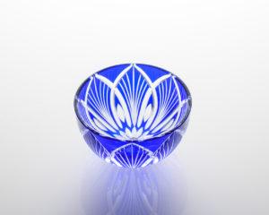 平盃 手まり 瑠璃
