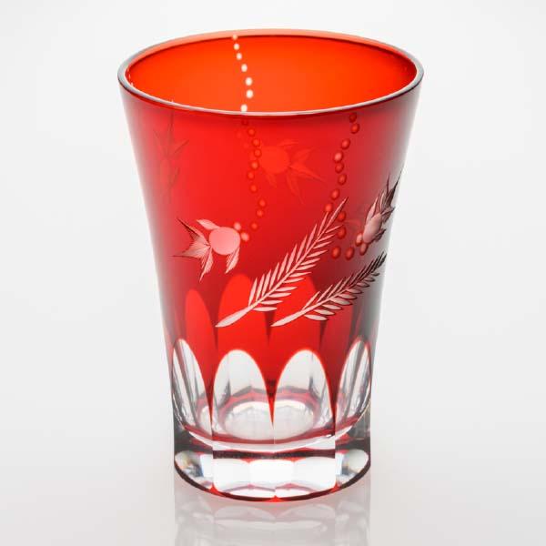 タンブラー 金魚 赤