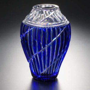 Simply Slant 瑠璃 クリスタルガラス
