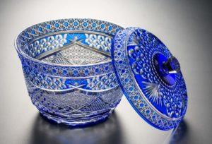 Castle 瑠璃 クリスタルガラス