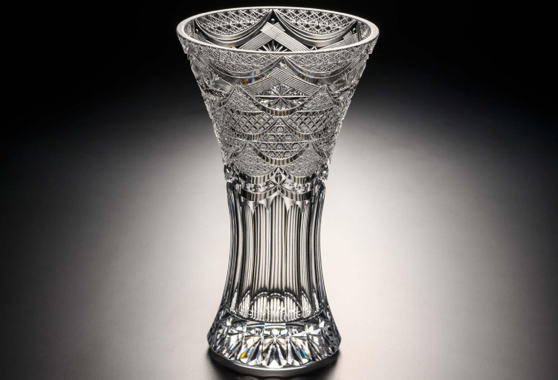 カーテンコール 透き クリスタルガラス