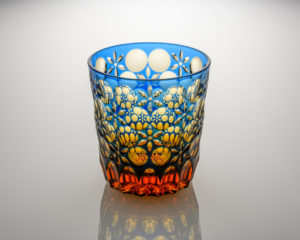 オールド 万華鏡 瑠璃/琥珀