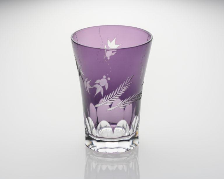 タンブラー 金魚 紫