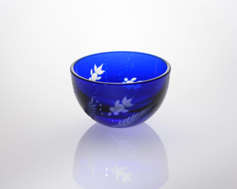 平盃 金魚 瑠璃