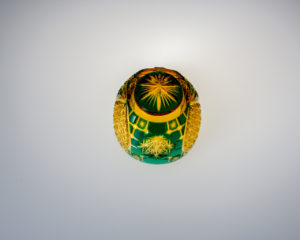 猪口 皇 緑/琥珀