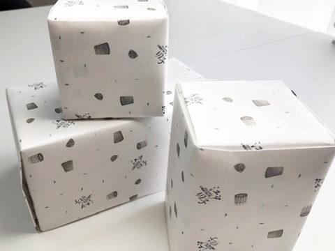 大場硝子加工所オリジナル包装紙
